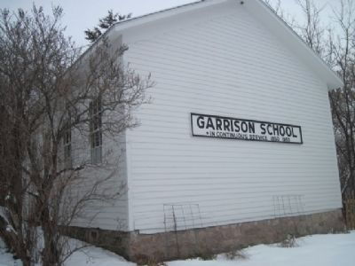 The Garrison School located at site Photo, Click for full size