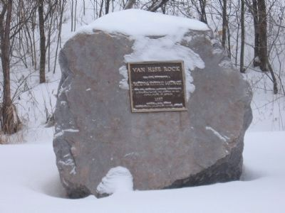 Van Hise Rock and Marker image. Click for full size.