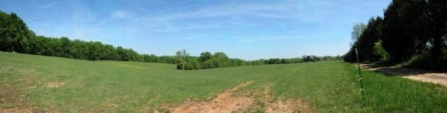 Payne�s Farm Battlefield image. Click for full size.
