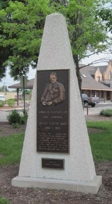 Another James Flatley Jr. Marker located at site image. Click for full size.