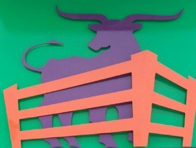 The Stockyards Marker Artwork image. Click for full size.