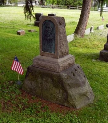 The grave of George Washington Sears image. Click for full size.