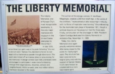 The Liberty Memorial Marker image. Click for full size.