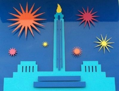 The Liberty Memorial Marker Artwork image. Click for full size.