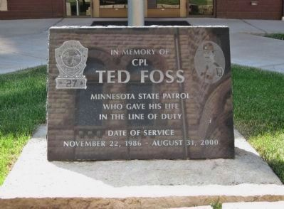 Ted Foss Memorial Photo, Click for full size