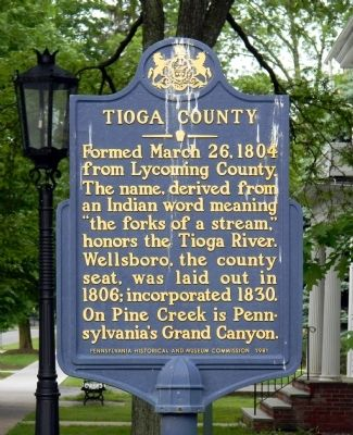 Tioga County Marker image. Click for full size.