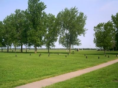 Fort Kearny Grounds Photo, Click for full size