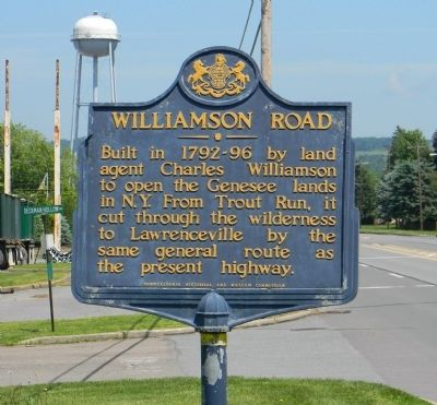 Williamson Road Marker image. Click for full size.