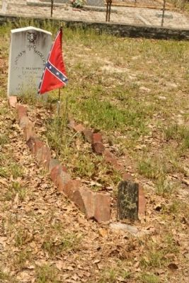 Graniteville Cemetery Confederate Vet image. Click for full size.
