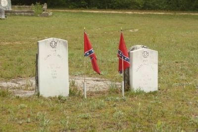 Graniteville Cemetery Confederate Veterans image. Click for full size.