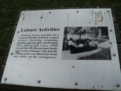 Leisure Activities Marker image. Click for full size.
