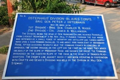 Osterhaus' Division - Blair's Corps. Marker image. Click for full size.