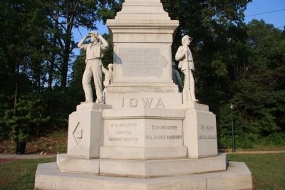 Iowa Marker Photo, Click for full size