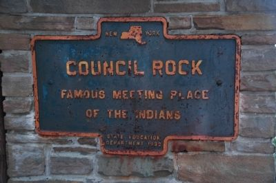 Council Rock Marker image. Click for full size.