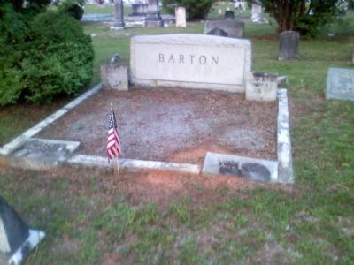 David Barton grave image. Click for full size.