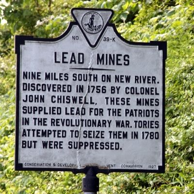Lead Mines Marker Photo, Click for full size