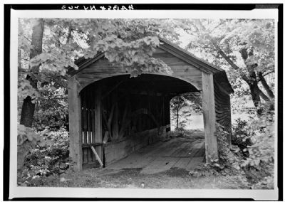 Hyde Hall Covered Bridge image. Click for full size.