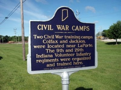 Civil War Camps Marker image. Click for full size.