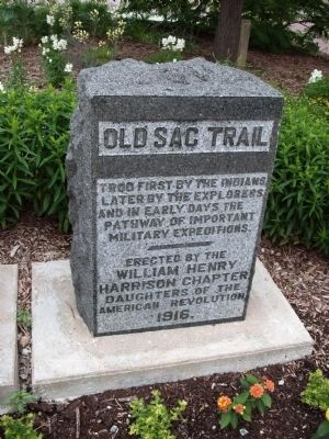 Old Sac Trail Marker image. Click for full size.