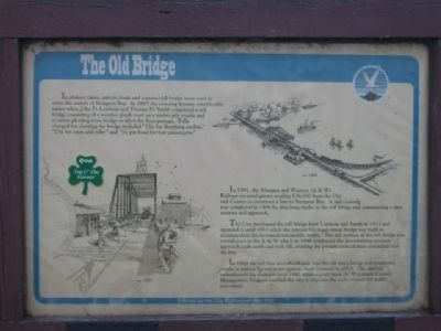 The Old Bridge Marker image. Click for full size.