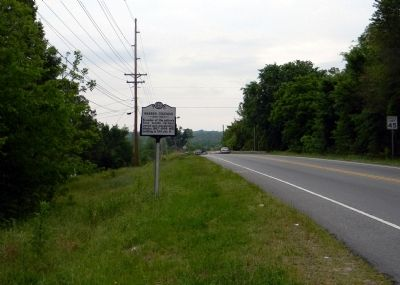 Wide view of the Warren Coleman Marker image. Click for full size.