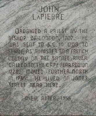 John LaPierre Marker Photo, Click for full size