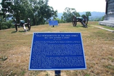 Field Headquarters of the Union Armies. Marker image. Click for full size.
