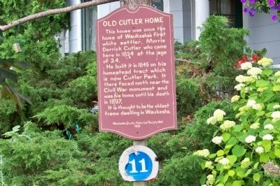 Old Cutler Home Marker image. Click for full size.