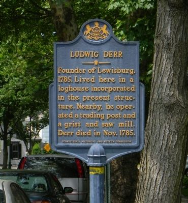 Ludwig Derr Marker image. Click for full size.