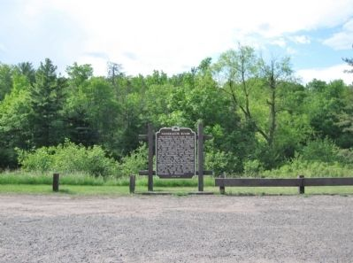 Namekagon River Marker image. Click for full size.