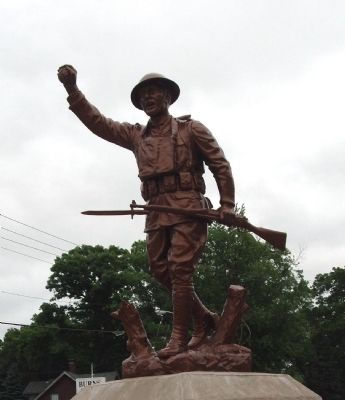 Front - - Doughboy Statue Photo, Click for full size