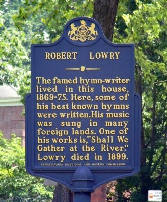 Robert Lowry Marker image. Click for full size.