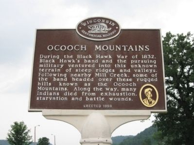 Ocooch Mountains Marker image. Click for full size.