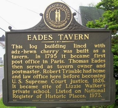 Eades Tavern Marker image. Click for full size.