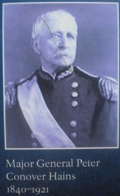 Major General Peter Conover Hains, 1840-1921. image. Click for full size.