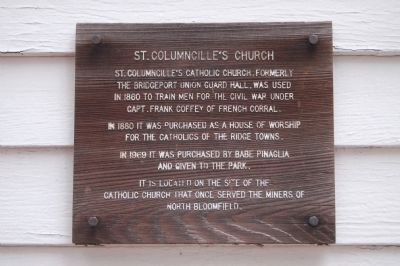 St. Columncille's Church Marker image. Click for full size.