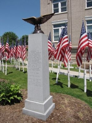 Smyth County Revolutionary War Memorial image. Click for full size.