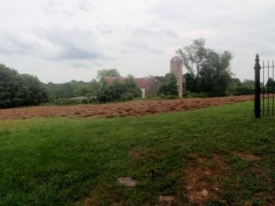 Plot of Land Where Church Stood image. Click for full size.