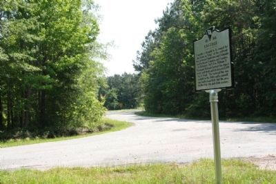 Kingville Marker looking back north along Kingville Road image. Click for full size.