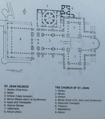 Saint-Jean (Yahya Aziz) Kilisesi / L'Eglise de St. John photo Marker, Cliquez pour pleine grandeur