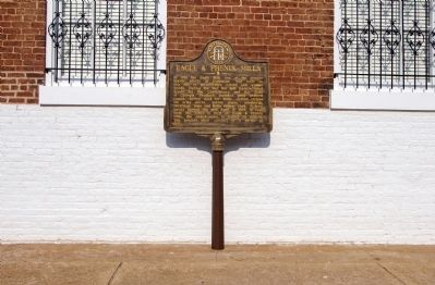 Eagle & Phenix Mills Marker Photo, Click for full size