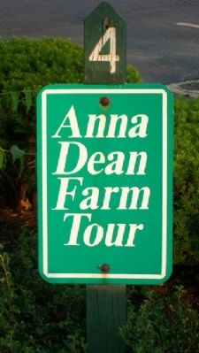 Anna Dean Farm Tour Stop 4 Marker image. Click for full size.