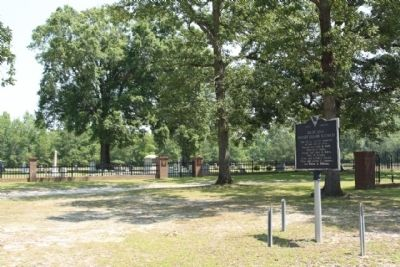 Richland Presbyterian Church Marker and Cemetery image. Click for full size.