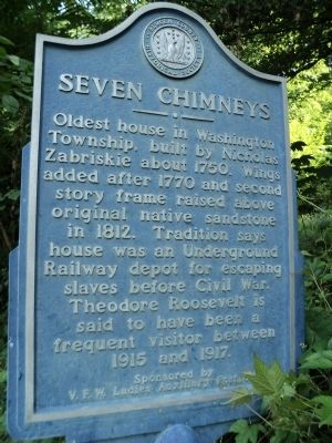 Seven Chimneys Marker image. Click for full size.