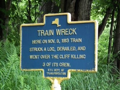 Train Wreck Marker image. Click for full size.