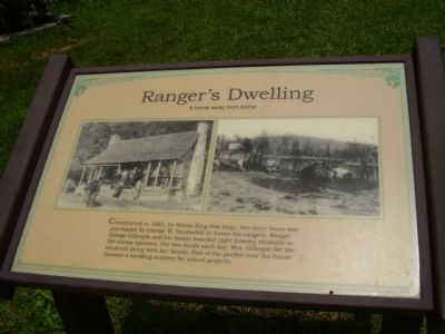 Ranger's Dwelling Marker image. Click for full size.