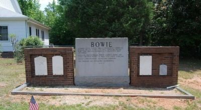 Bowie Marker<br>Reverse (West) image. Click for full size.