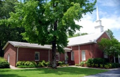 Gilgal United Methodist Church<br>Founded on Land Donated by<br>Eli Bowie image. Click for full size.