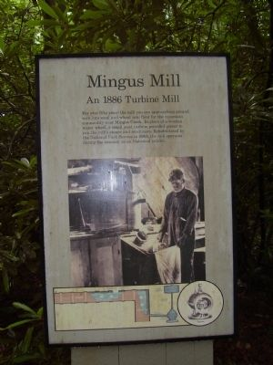 Mingus Mill Marker image. Click for full size.