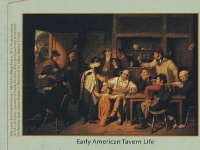 Early American Tavern Life image. Click for full size.